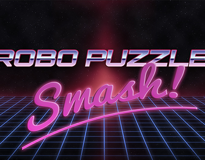 80's SciFi Arcade Title