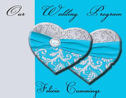 WEDDING PROGRAM COVER