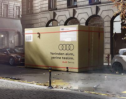 Audi - Yerinden alım, yerine teslim.