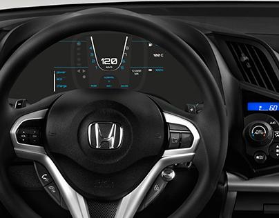 DISEÑO INTERACTIVO. Cockpit digital Honda CR-Z
