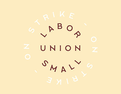 LABOUR UNION SMALL - FREE VINTAGE FONT