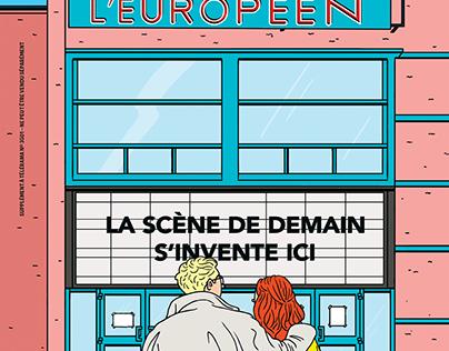 Cover of Telerama