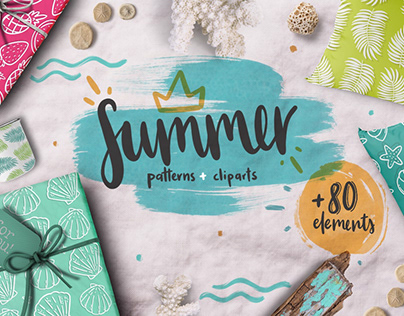 Summer lover kit! +80 elements