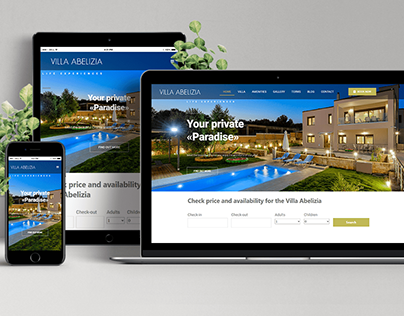 Villa Abelizia Website