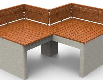 Cubical   Public seating