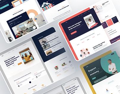 Website Interfaces Design