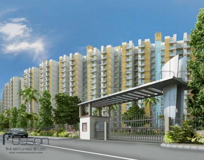 Exterior Views - Group Housing