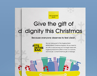 The Hygiene Bank 2019 Christmas Appeal