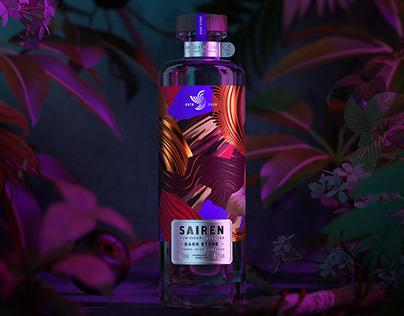 SAIREN Clear Spiced Rum