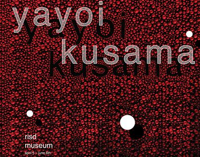 Yayoi Kusama Poster