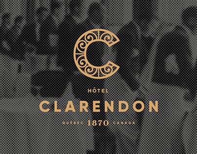 Hôtel Clarendon / Rebranding