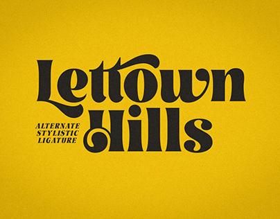 Lettown Hills Script Font