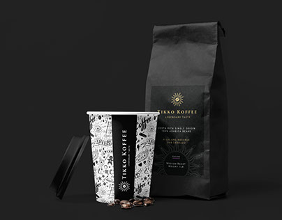 Tikko Koffee Branding
