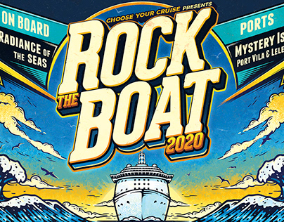 Rock The Boat 2020 Poster