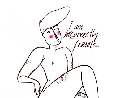 Correctly female | Nanette