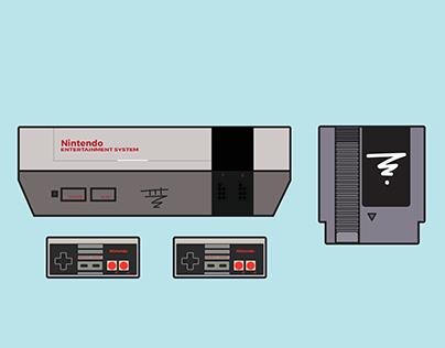 Nintendo Illustration