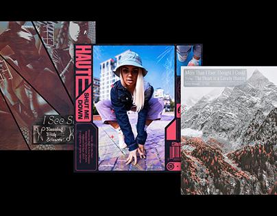 Concept vinyl artwork series - part three