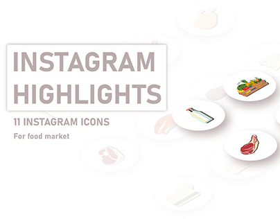 Instagram Highlights for halal food market