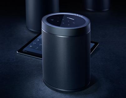 YAMAHA Multicast speakers