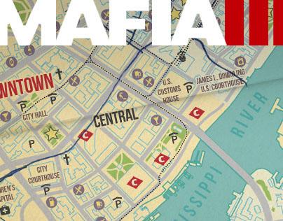 MAFIA III World Map