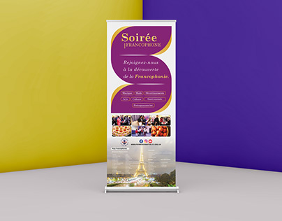 SOIREE FRANCOPHONE ROLL-UP