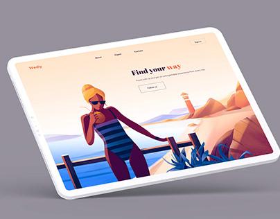 Free New iPad Tablet Landscape Mockup
