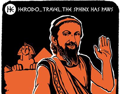HERODO_TRAVEL_BLOG illustration for the OYLA, april'19
