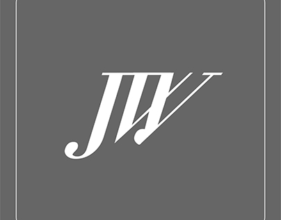 J& W music logo design
