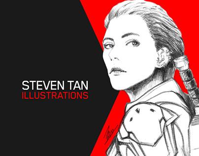 Steven Tan: Illustrations Vol. #1