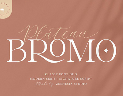 Classy Font Duo