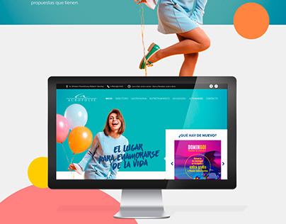 Acropolis Center Website
