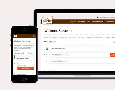 VoorleesExpress Web app