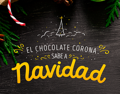 El chocolate Corona sabe a navidad