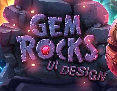 Gem Rocks UI Design