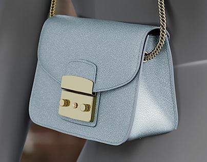Realistic 3D model Women's Bag