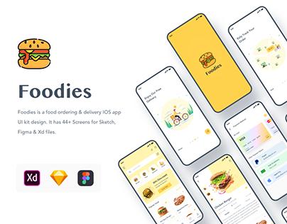 Foodies: Food ordering & delivery App
