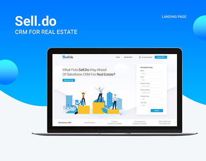 Sell Do - Landing page
