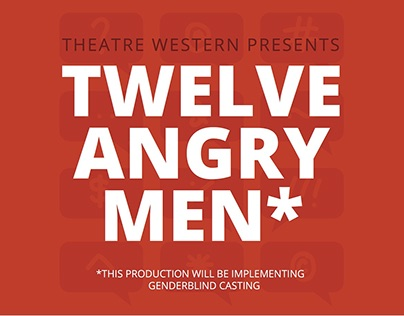 Twelve Angry Men - Fall Play 2016