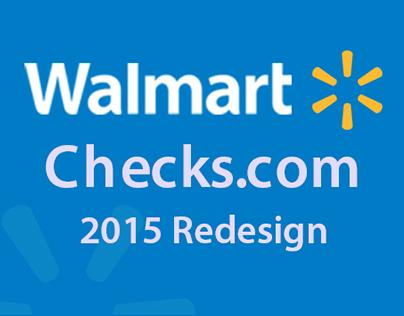 Walmart Checks _ UI Design