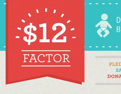 DC Diaper Bank Nonprofit // Web + Infographic