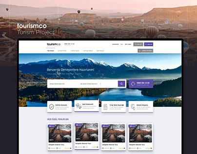Tourism, Tour Project UI / UX Web Design