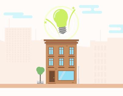 Illustration street idea