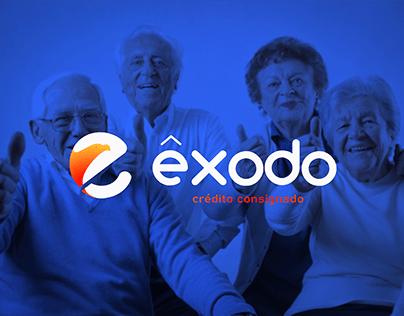 Logotipo e Identidade Visual ÊXODO Crédito Consignado