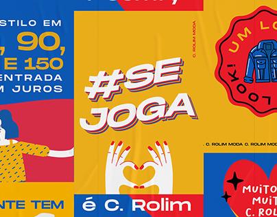 C. Rolim Moda | Photoshoot #SeJoga