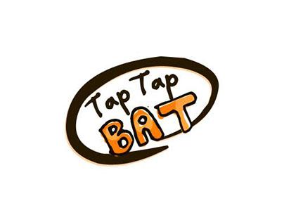 tap tap bat logo design