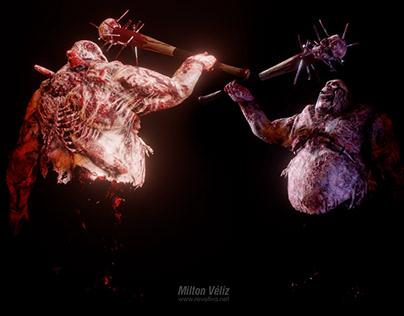 Zombie Character for videogame