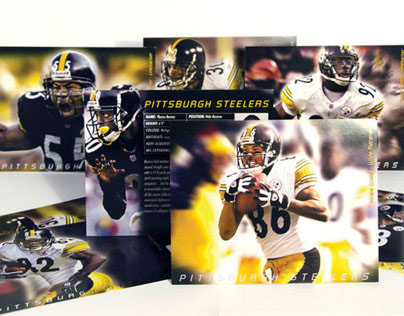 Pittsburgh Steeler Player Cards