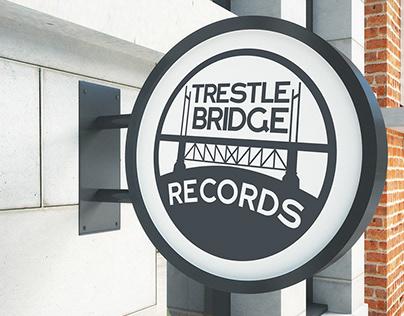 Trestle Bridge Records   Logo Design
