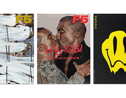 F5 magazine layouts 2017-2019