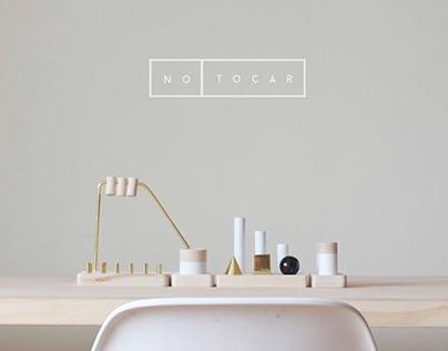 no tocar_desk organizer